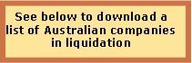In Liquidation