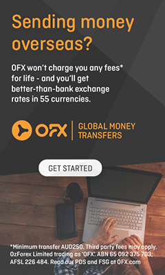 OFX Transferring Money Internationally to Free